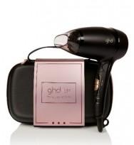 GHD Flight Travel Hairdryer Rose Gold Gift Set