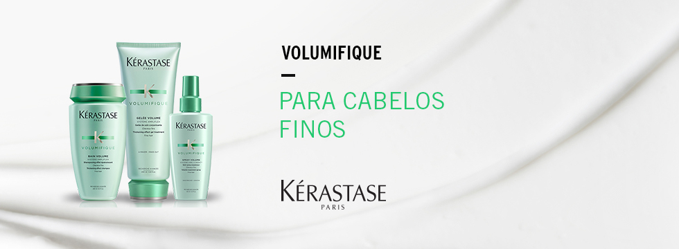 Volumifique - Finos e sem volume